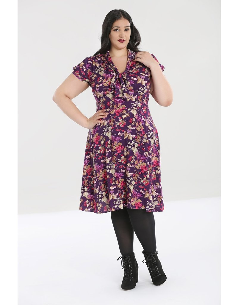 Hell Bunny SPECIAL ORDER Hell Bunny 40s Berry Crush Dress