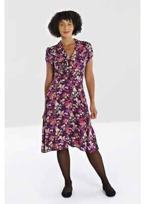 Hell Bunny PRE ORDER Hell Bunny 40s Berry Crush Dress
