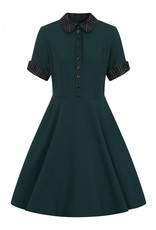 Hell Bunny PRE ORDER Hell Bunny Tiddlywinks Dress Green