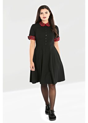 Hell Bunny PRE ORDER Hell Bunny Tiddlywinks Dress Black