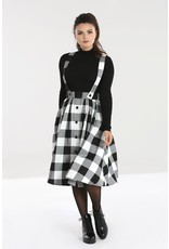 Hell Bunny PRE ORDER Hell Bunny Teen Spirit Pinafore Skirt White