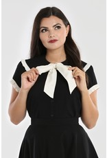 Hell Bunny SPECIAL ORDER Hell Bunny Veronica Bow Blouse