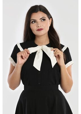 Hell Bunny PRE ORDER Hell Bunny Veronica Bow Blouse