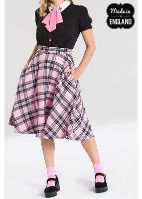 Hell Bunny PRE ORDER Hell Bunny Islay Tartan Skirt Pink