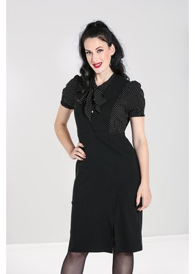 Hell Bunny PRE ORDER Hell Bunny Claire Pinafore Pencil Dress