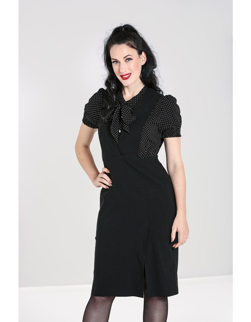 Hell Bunny SPECIAL ORDER Hell Bunny Claire Pinafore Pencil Dress