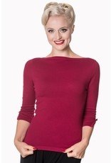 Banned Dancing Days Addicted Jumper Plum