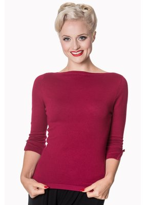 Banned PRE ORDER Dancing Days Addicted Jumper Plum