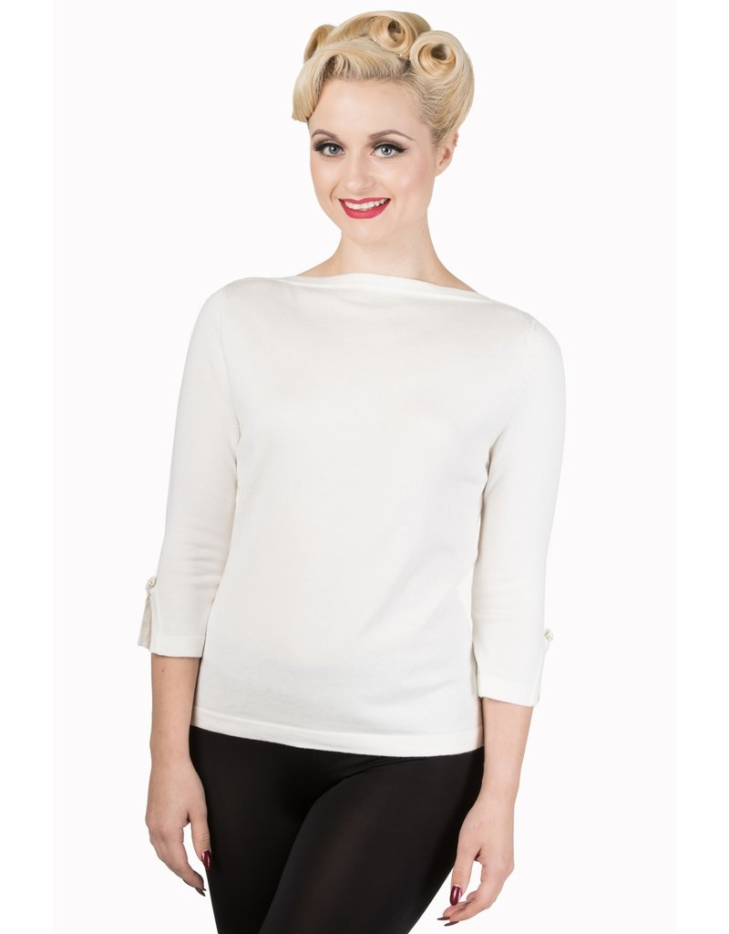 Banned SPECIAL ORDER Dancing Days Addicted Jumper Cream