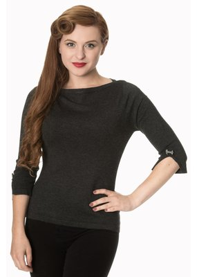 Banned PRE ORDER Dancing Days Addicted Jumper Charcoal