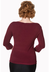 Banned SPECIAL ORDER Dancing Days Addicted Jumper Bordeaux