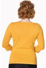 Banned Dancing Days Addicted Jumper Mustard
