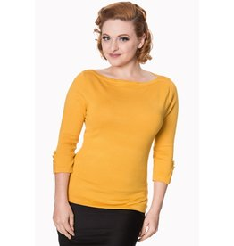 Banned SPECIAL ORDER Dancing Days Addicted Jumper Mustard