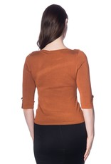 Banned SPECIAL ORDER Dancing Days Addicted Jumper Brown