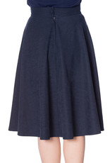 Banned SPECIAL ORDER Dancing Days Lady Swing Skirt Navy