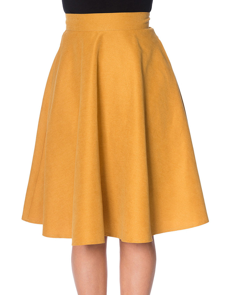 Banned SPECIAL ORDER Dancing Days Lady Swing Skirt Mustard