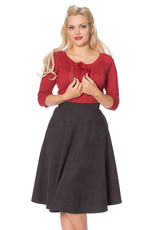 Banned SPECIAL ORDER Dancing Days Lady Swing Skirt Grey