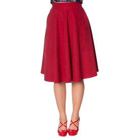 Banned SPECIAL ORDER Dancing Days Lady Swing Skirt Red