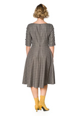 Banned SPECIAL ORDER Dancing Days Cheeky Check Dress Grey