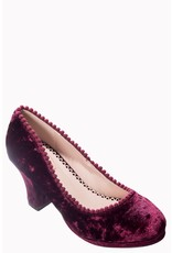 Banned SPECIAL ORDER Dancing Days Honey Hush Velvet Pumps