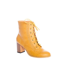 Banned SPECIAL ORDER Dancing Days Clustered Heritage Boot Camel