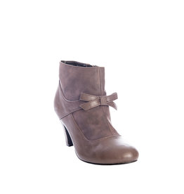 Banned SPECIAL ORDER Dancing Days Vintage Wings Ankle Boot Grey