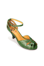 Banned SPECIAL ORDER Dancing Days Indiscreet Peep Toe Pump Green