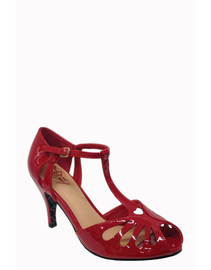 Banned SPECIAL ORDER Dancing Days Secret Love Pump Red