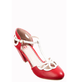 Banned SPECIAL ORDER Dancing Days Lively Aimee Pumps Red