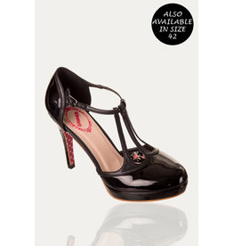 Banned SPECIAL ORDER Dancing Days Betty Strap Pumps Black