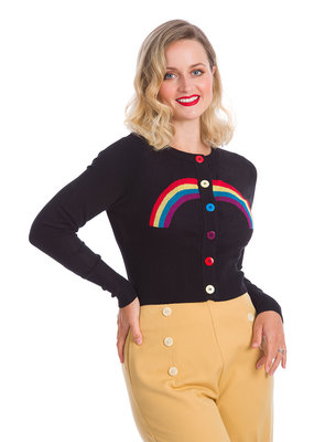 Banned SPECIAL ORDER Dancing Days Rainbow Ahead Cardigan