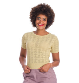 Banned SPECIAL ORDER Dancing Days Nautical Top Ivory