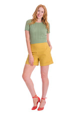 Banned SPECIAL ORDER Dancing Days Nautical Top Green