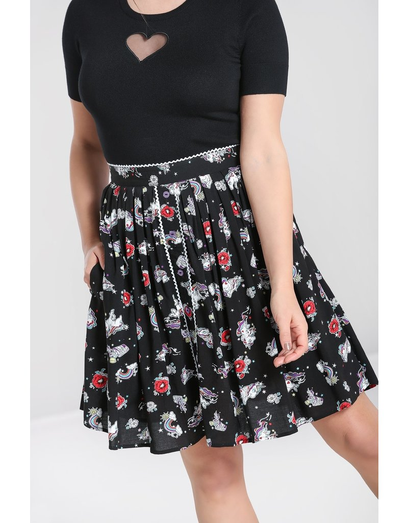 Hell Bunny SPECIAL ORDER Hell Bunny Star Catcher Mini Skirt