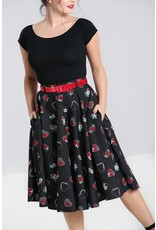 Hell Bunny SPECIAL ORDER Hell Bunny Petals 50s Skirt