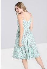 Hell Bunny SPECIAL ORDER Hell Bunny Birdcage Dress Mint