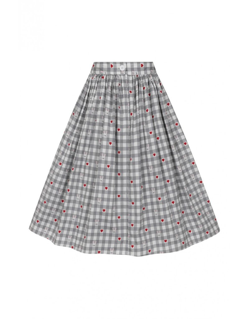 Hell Bunny SPECIAL ORDER Hell Bunny Hopper Pleated Skirt