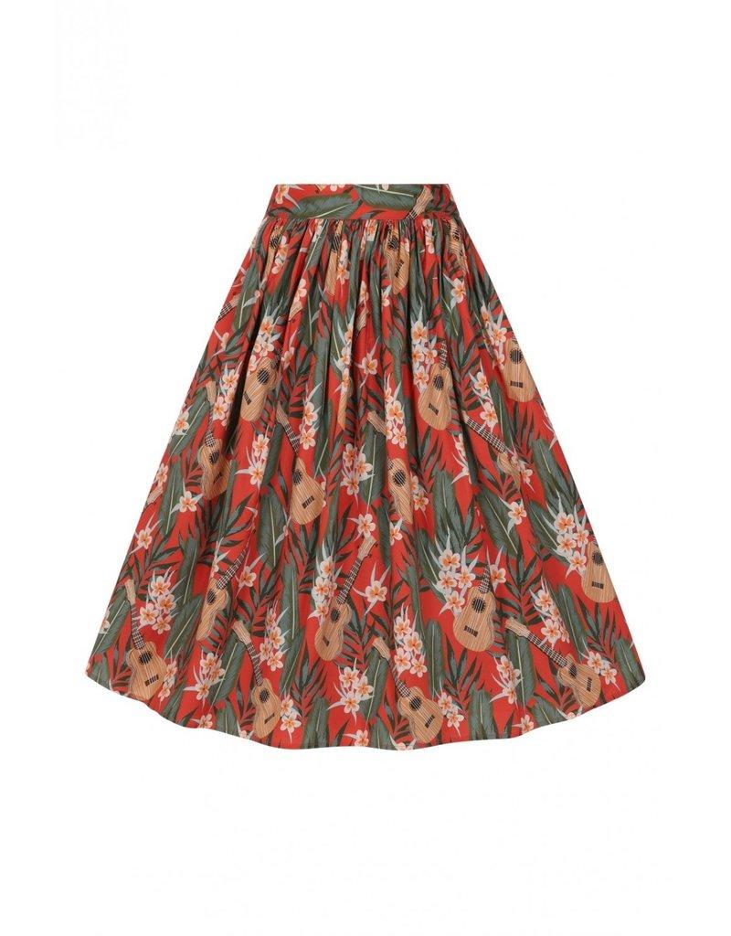 Hell Bunny Hell Bunny Ukelele Pleated Skirt