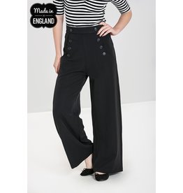 Hell Bunny SPECIAL ORDER Hell Bunny Carlie Swing Pants Navy