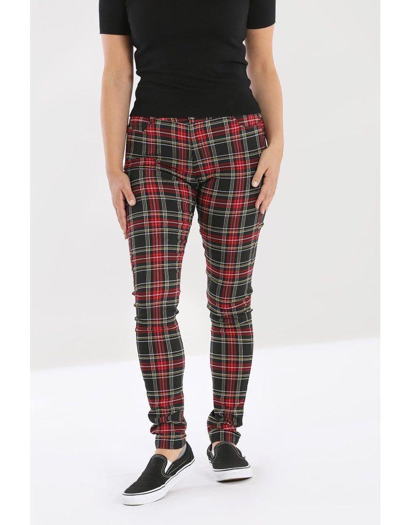 Hell Bunny SPECIAL ORDER Hell Bunny Clash Skinny Trousers