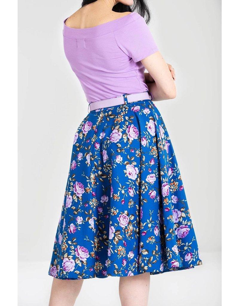 Hell Bunny SPECIAL ORDER Hell Bunny Violetta Swing Skirt