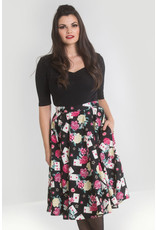 Hell Bunny SPECIAL ORDER Hell Bunny 1950s Queen of Hearts Skirt