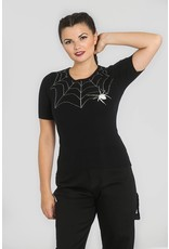 Hell Bunny SPECIAL ORDER Hell Bunny New Black Widow Jumper