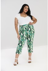 Hell Bunny SPECIAL ORDER Hell Bunny Rainforest Cigarette Trousers