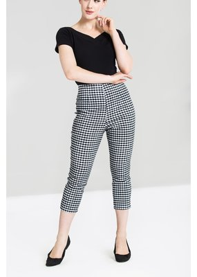 Hell Bunny SPECIAL ORDER Hell Bunny Judy Gingham Capri Pants