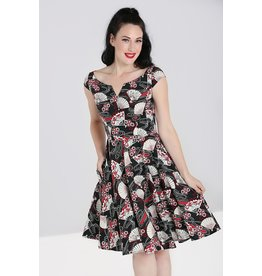 Hell Bunny SPECIAL ORDER Hell Bunny Oriental Lanah Dress