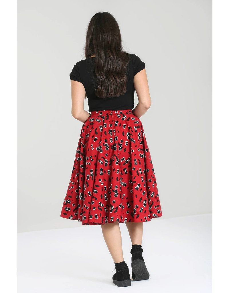 Hell Bunny SPECIAL ORDER Hell Bunny Alison Cherry 50s Skirt