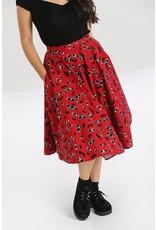Hell Bunny Hell Bunny Alison Cherry 50s Skirt