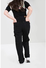 Hell Bunny SPECIAL ORDER Hell Bunny 1940s Carpenter Jeans Black