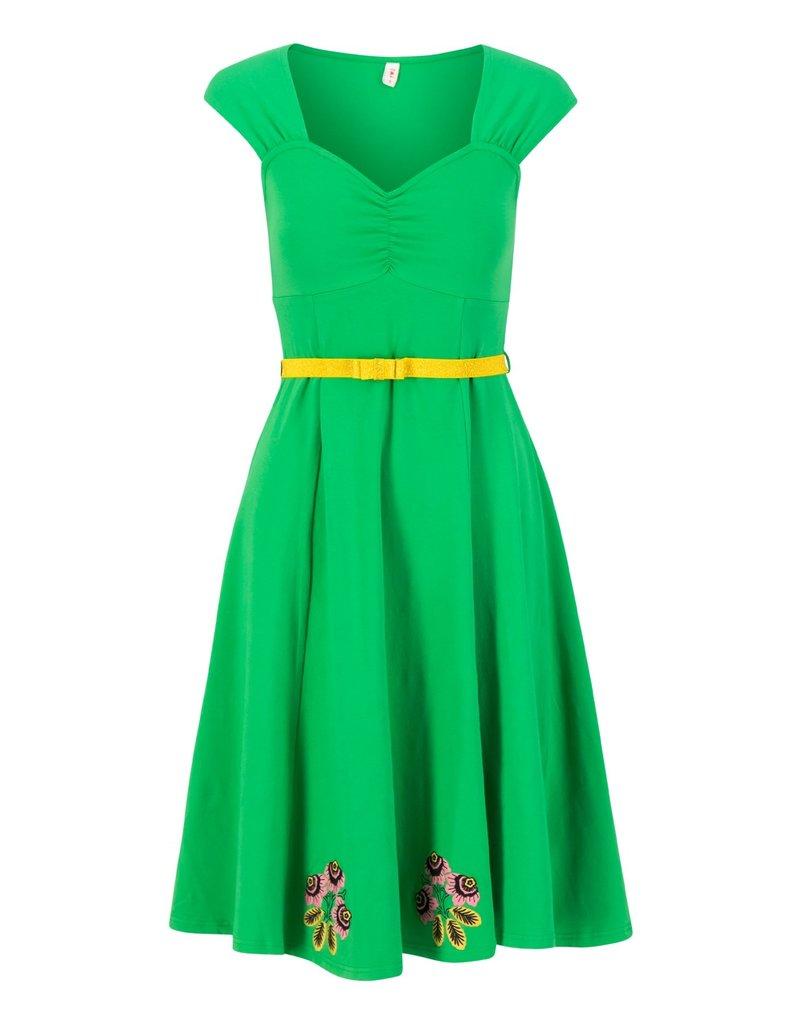 Blutsgeschwister Blutsgeschwister Heart on Fire Green Tree Dress